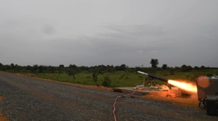 DRDO Successfully Test Flights Indigenous Man-Portable Anti-Tank Guided Missile