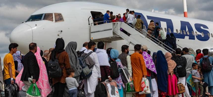 Qatar Helping US Fly Afghanistan Evacuees to Germany