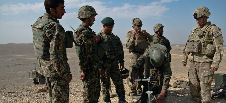 The US Spent $83 Billion Training Afghan Forces. Why Did They Collapse So Quickly?