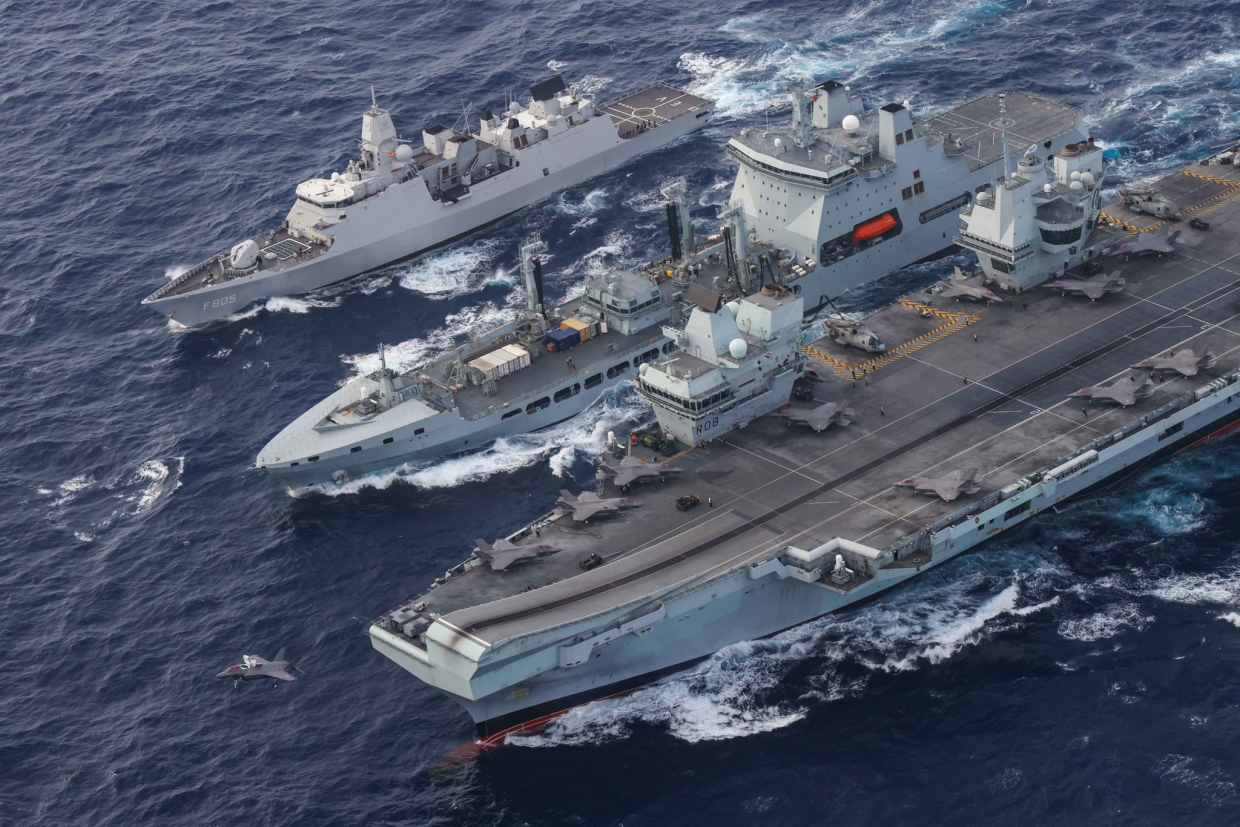 Australian Navy to Join Indian Fleet in New War Games Amid China Fears