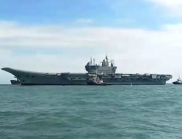 India's first indigenous aircraft carrier Vikrant successfully completes five-day maiden sea voyage