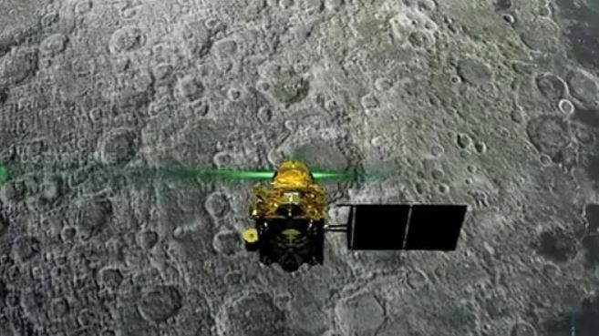 Chandrayaan-2 orbiter detects water molecules on lunar surface