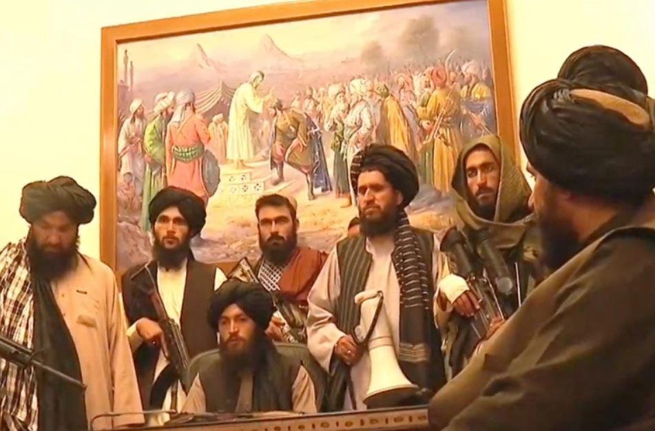 Taliban enters Afghan presidential palace after Ghani flees