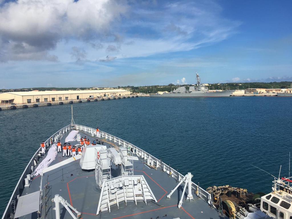 QUAD Navies Participate in Exercise Malabar 2021