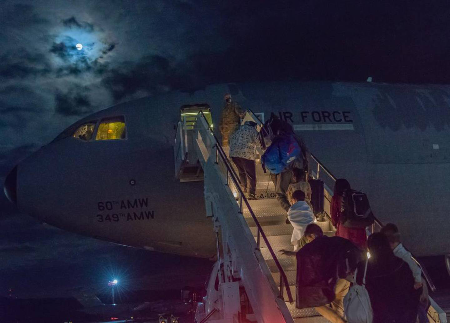 TRANSCOM boss vows to ramp up what is already one of the largest airlift operations in history