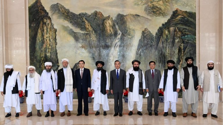 China and Taliban hold their first dialogue in Kabul