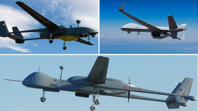 Heron, Searcher, Sea Guardian, SWITCH — the many UAVs that make up India's drone arsenal
