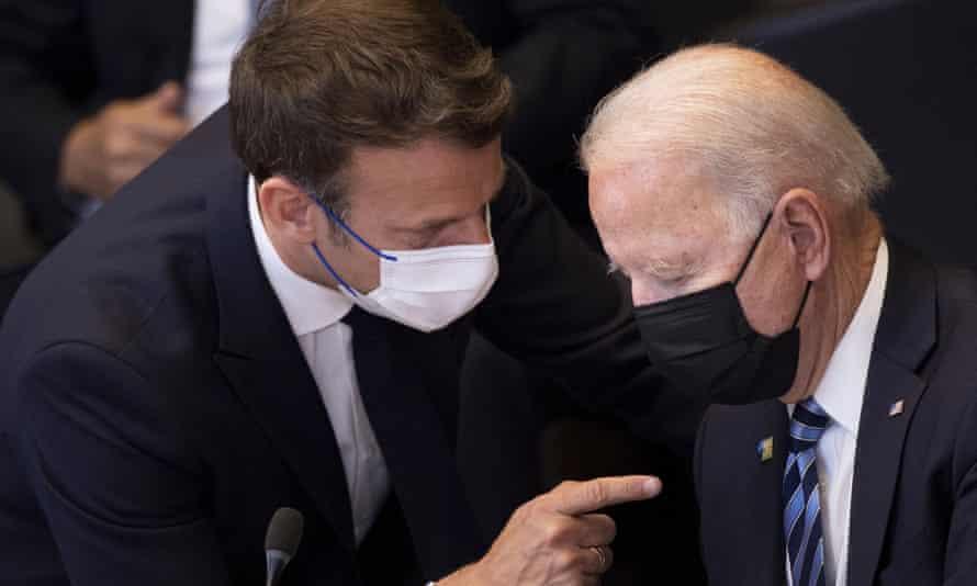 Aukus pact: France to send ambassador back to US after Macron-Biden call