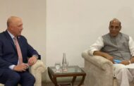Rajnath Singh Holds Bilateral Talks With Australian Defence Minister