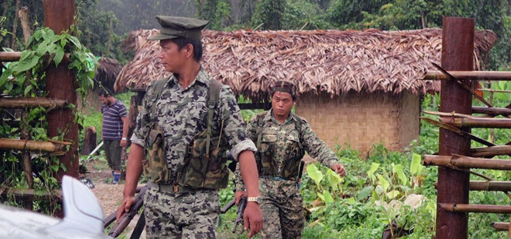 Myanmar Military Battles Ethnic Armed Group in Kachin State