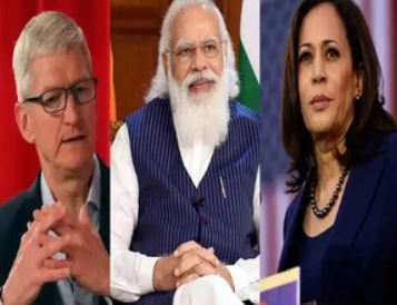 Meeting with Kamala Harris, Apple chief Tim Cook also on cards during PM Modi's US visit