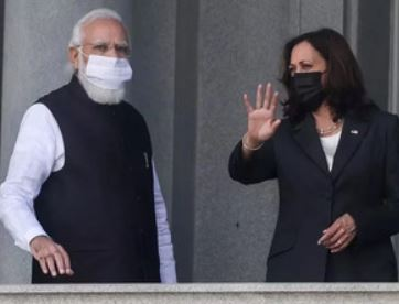 In her first meeting with PM Modi, US VP Kamala Harris talks about defending democracies