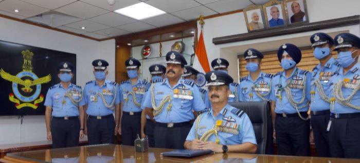 Air Chief Marshal VR Chaudhari Takes Over Reins