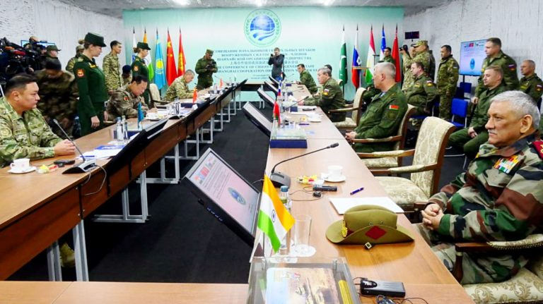 CDS Bipin Rawat attends SCO military exercise in Russia's Orenburg