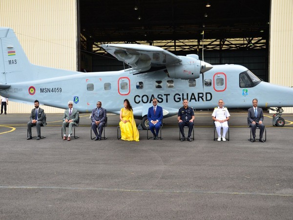 India handover Dornier aircraft to Mauritius as part of Vision SAGAR
