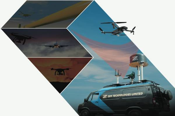 Indian Military Orders Anti-Drone Systems from BEL and Zen Tech.