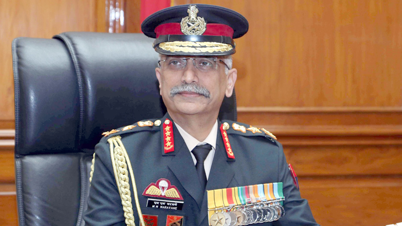 Indian Army Chief here today
