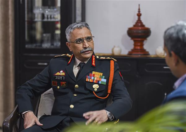 China's deployment of large number of troops along LAC matter of concern: Army Chief Naravane