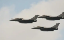 Three more Rafale fighters arriving from France, to land in Gujarat's Jamnagar tonight