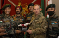 Indian Army team wins Gold at military patrol exercise in UK