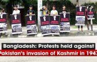 Bangladesh: Protests held against Pakistan's invasion of Kashmir in 1947