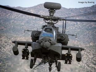 Apache AH 64D Longbow helicopter