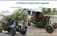 Bharat Electronics delivers L70 upgraded guns to Indian Army