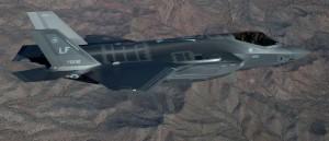 F 35 Lightening 2 aircraft